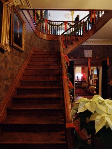 Beautiful Staircase Inside the Spadina House Museum