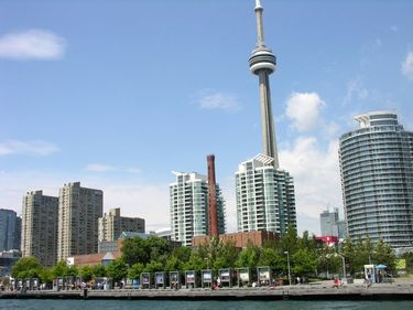 Toronto's Harbourfront has been transformed from industrial to a multifaceted people friendly space