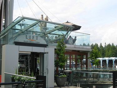 Restaurant with Outdoor Terrace Overlooking Vancouver Harbour and Stanley Park
