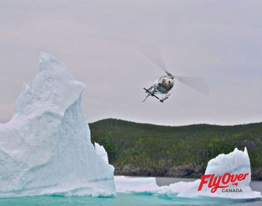 Photos taken during the production of FlyOver Canada