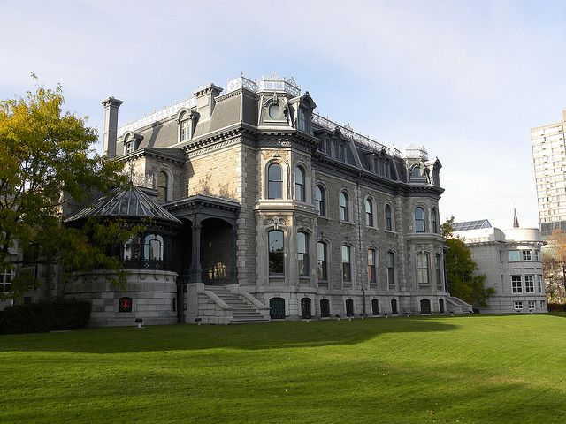 The Historic Shaughnessy House forms part of the CCA