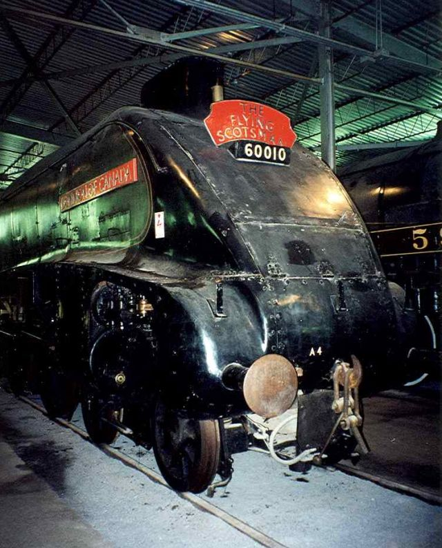 The Flying Scotsman - A famous locomotive from the UK