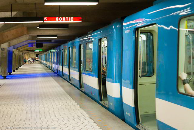 Montreal's clean and modern Metro is the heart of the transit network