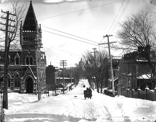 Montreal winter circa 1890 - One of thousands of historic photos you can see at the McCord Museum