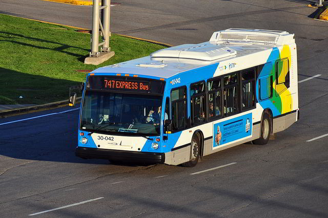 Montreal also has an extensive bus network