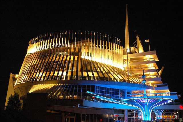 Montreal Casino at night