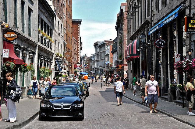 Some of the streets in Old Montreal will have you feeling like you are in Europe