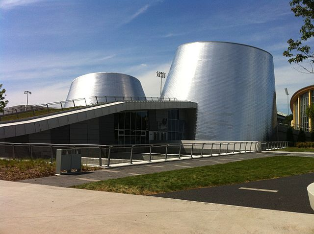 Twin theatres of the Rio Tinto Alcan Planetarium