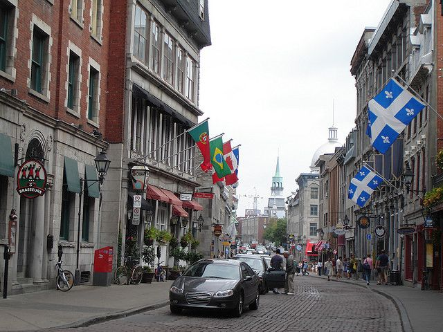 Nothing beats the European charm of shopping along Rue Saint Paul in Old Montreal