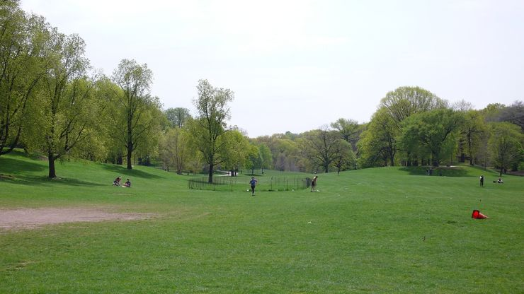 The arrival of Spring in Prospect Park