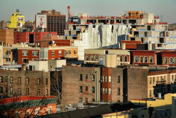 A Harlem Neighbourhood in the Process of Transformation