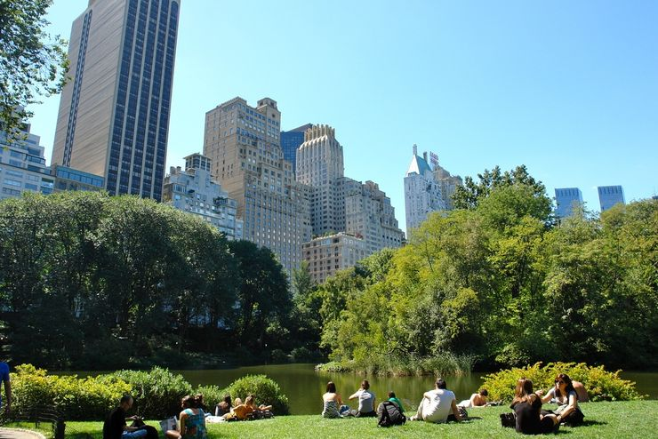 Central Park provides a wonderful oasis within Manhattan