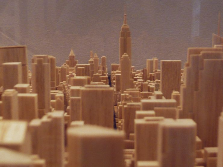 The Skyscraper Museum features many fascinating models, photos, videos and books