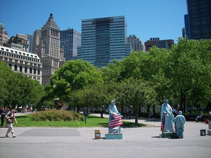 'Soap Boxers' in Battery Park