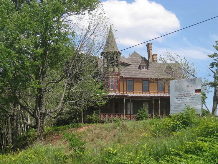The Charles Kreischer House is just one of many historic buildings preserved on Staten Island