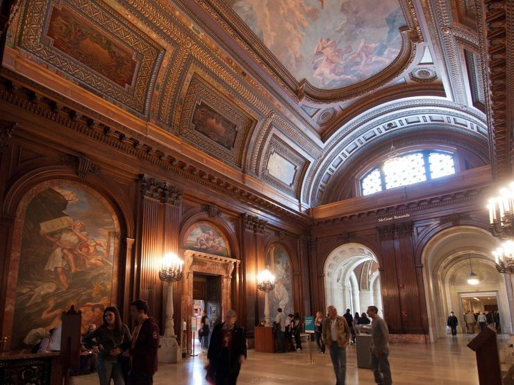 The Interior of the New York Public Library is nothing short of Spectacular
