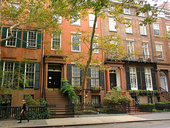Greenwich Village Row Houses
