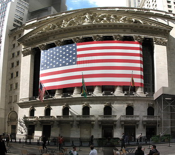 New York Stock Exchange from Wall Street