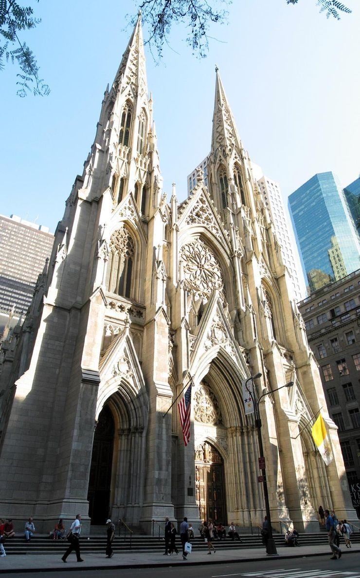 The Spectacular Neo-Gothic St. Patricks Cathedral in New York City