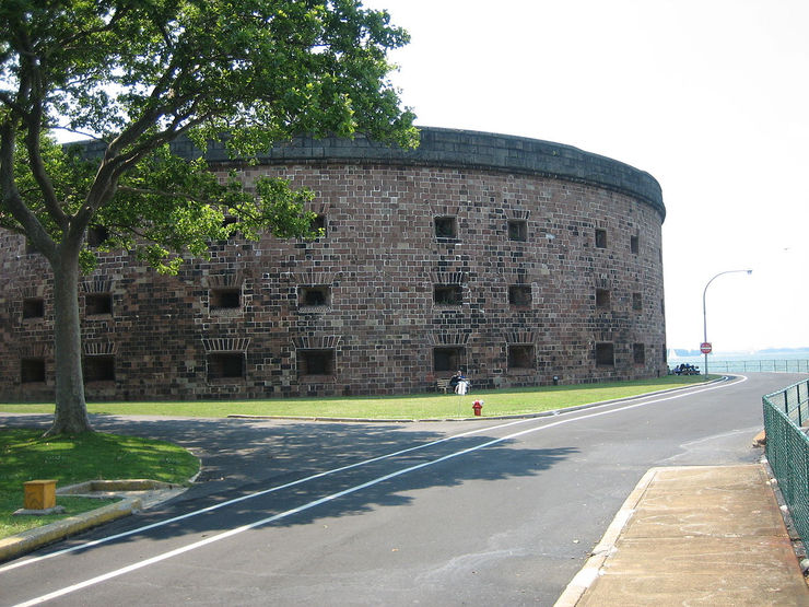 Williams Castle on Governors Island