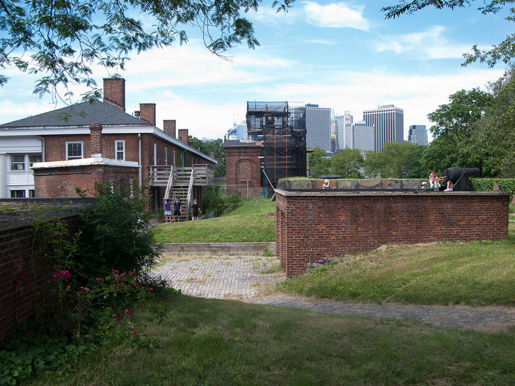 Historic Buildings on Governors Island
