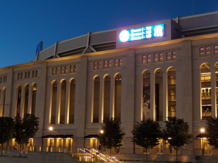Facade of Yankee Stadium