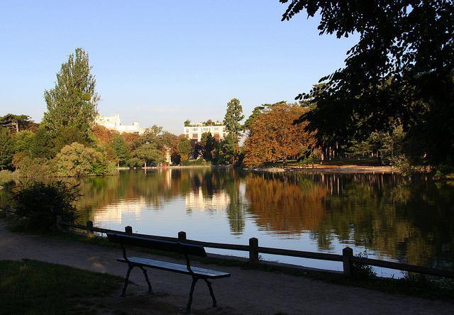 View of Bois de Boulogne near Port Dauphine cc licensed photo by  ~ Jardin D Acclimatation Bois De Boulogne