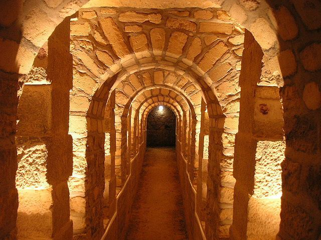 Passage into the Catacombs of Paris