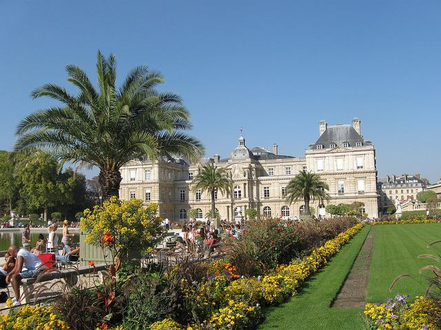 Luxembourg Garden in Paris
