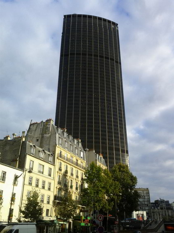 Montparnasse Tower is not the prettiest sight in Paris, but the the views from the top are spectacular