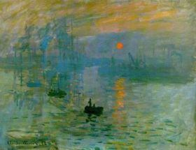 Sunrise by Monet at Musée Marmottan Monet
