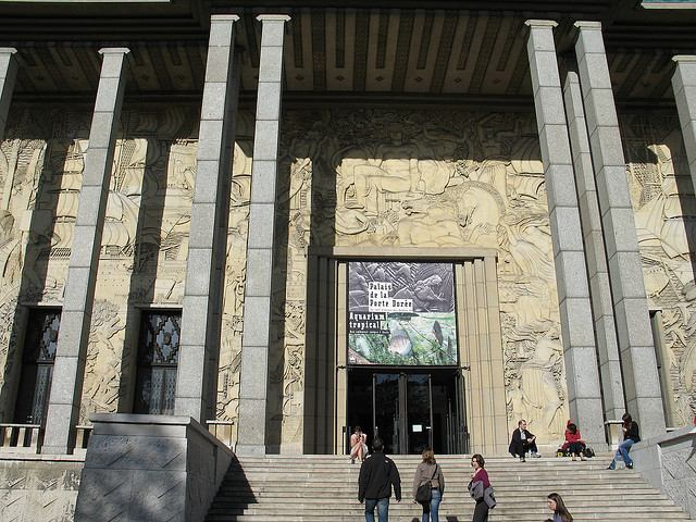 Entrance to the Tropical Aquarium in Palais de la Porte Doree