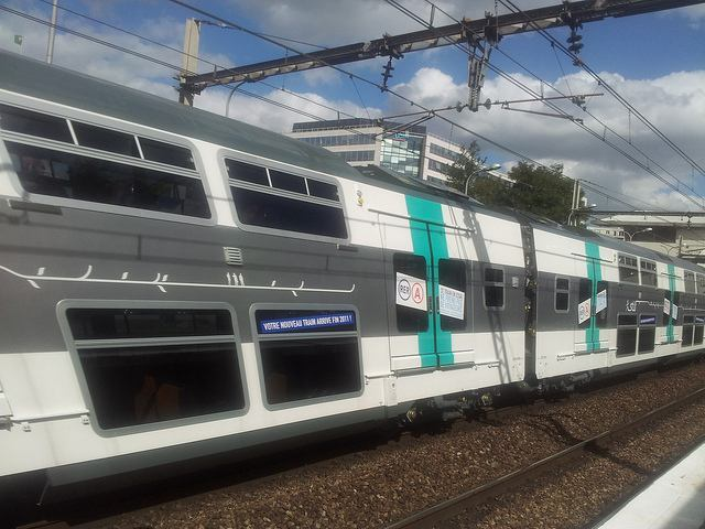 Paris RER Train on Line A