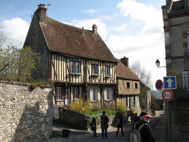 Medeival houses in Provins