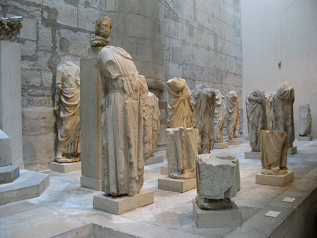 Headless sculptures in the Musée de Cluny