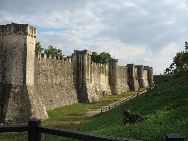 Ramparts in Provins