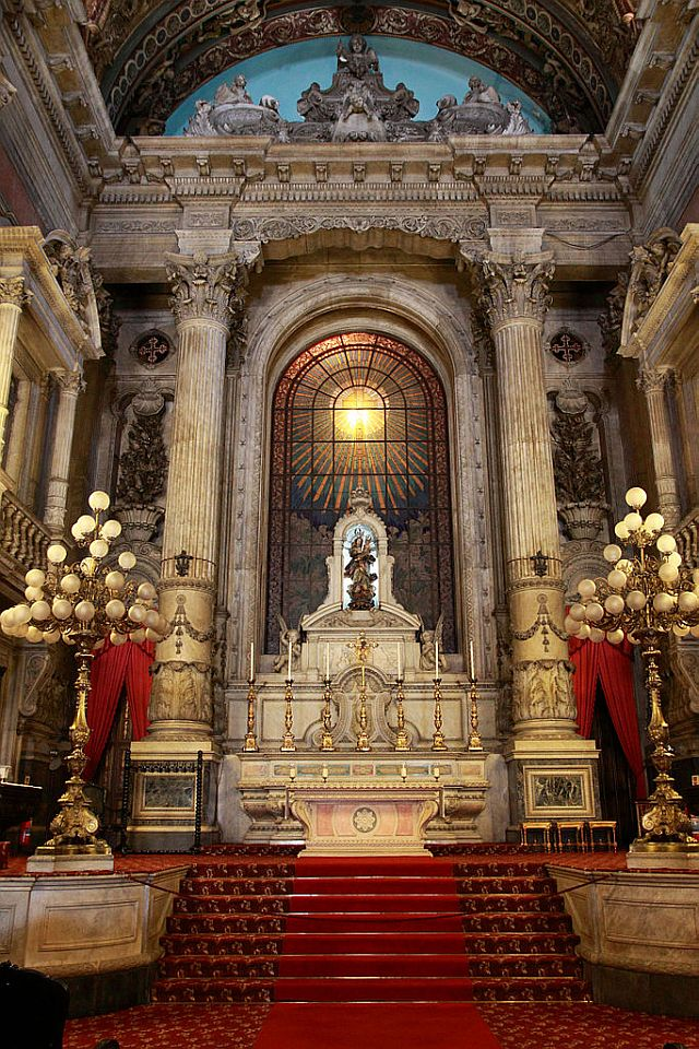 Candelaria Church Alter