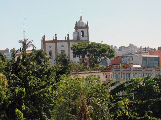 Church of Our Lady of the Glory commands a great view from the top of the hill