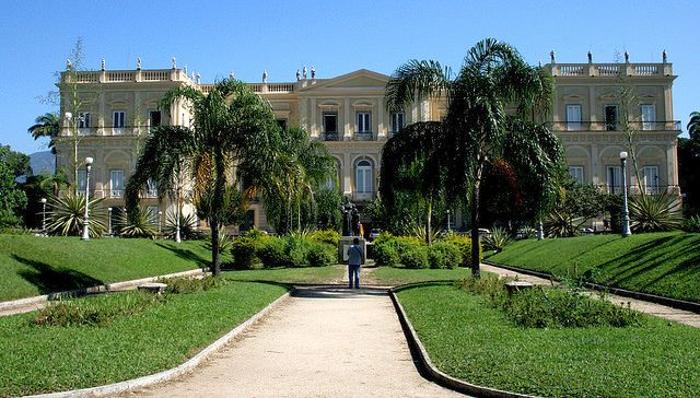Former Imperial Palace and now National Museum at Quinta da Boa Vista