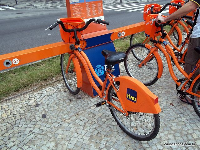 Rio Bike rental station