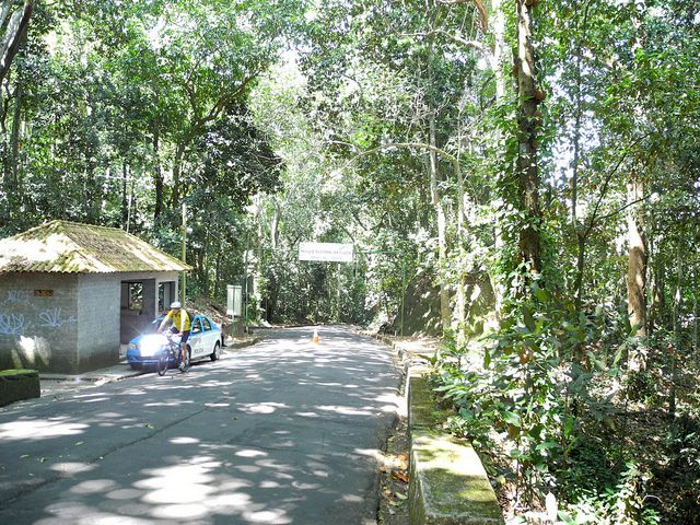 Entrance to the Tijuca National Park