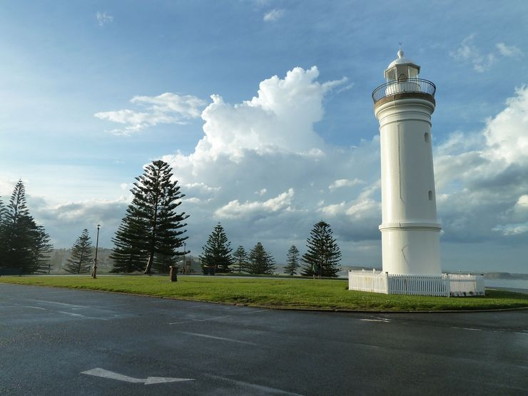 The historic 1887 Kiama Lighthouse