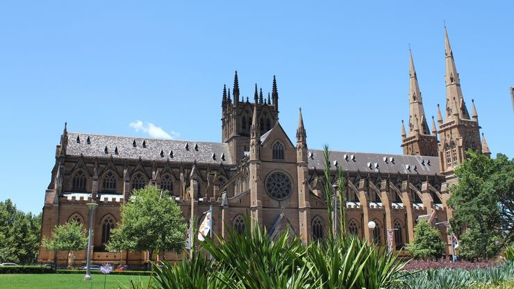 Gothic Revival Architecture of St. Mary's Cathedral