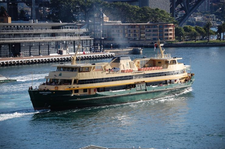 Just one of many Sydney Ferries