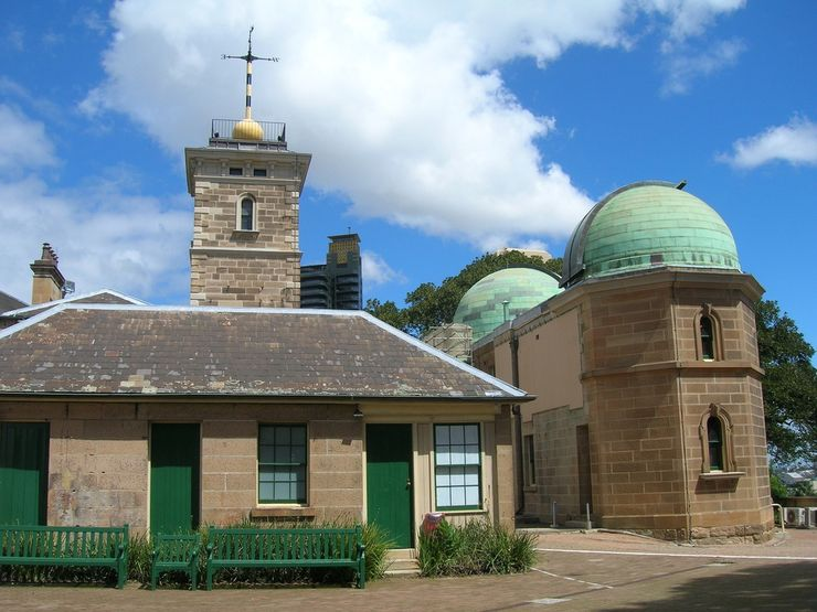 Sydney Observatory from another angle