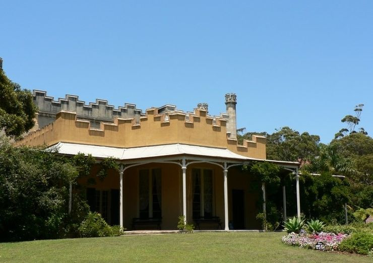 Front of Vaucluse House