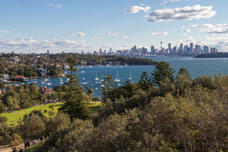 Spectacular view from Watsons Bay
