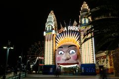 Luna Park at night