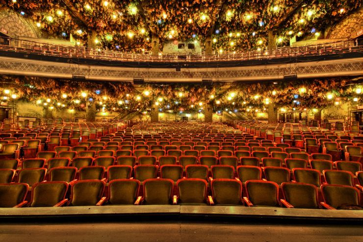 Interior of Winter Garden Theatre