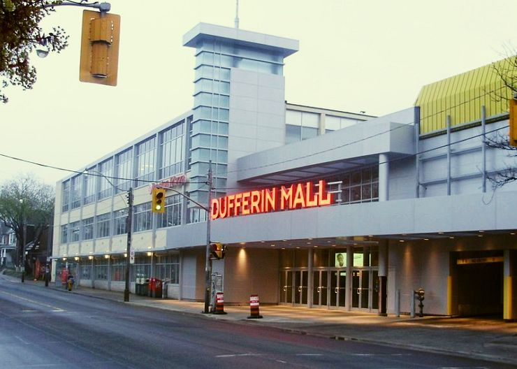 Dufferin Mall South Entrance
